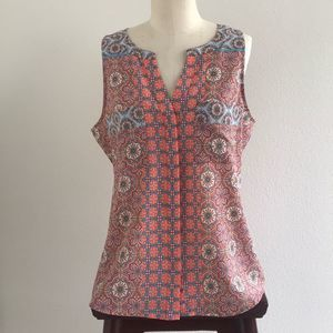 Sanctuary Stained Glass Sleeveless Blouse